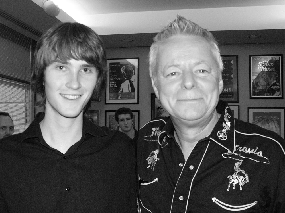 Martin Foote with Tommy Emmanuel
